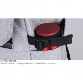 Mark Ryden Tas Ransel Laptop dengan USB Charger Port - MR5748 - Gray - 5