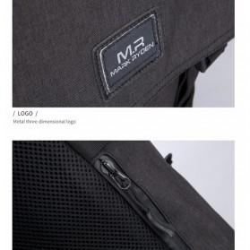 Mark Ryden Tas Ransel Laptop dengan USB Charger Port - MR5748 - Gray - 6