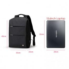 Mark Ryden Tas Ransel Laptop dengan USB Charger Port - MR5911 - Black - 2