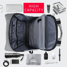 Mark Ryden Tas Ransel Laptop dengan USB Charger Port - MR5911 - Black - 3