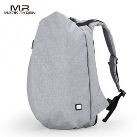 Mark Ryden Tas Ransel Laptop dengan USB Charger Port - MR5761A - Gray