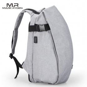 Mark Ryden Tas Ransel Laptop dengan USB Charger Port - MR5761A - Gray - 2