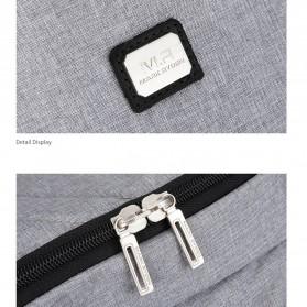 Mark Ryden Tas Ransel Laptop dengan USB Charger Port - MR5761A - Gray - 8
