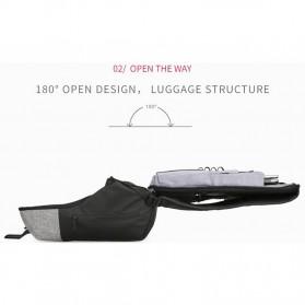 Mark Ryden Tas Ransel Anti Maling dengan USB Charger Port - MR6768 - Gray/Black - 5