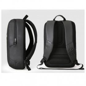 Mark Ryden Tas Ransel Laptop dengan USB Charger Port - MRK9032 - Black - 2