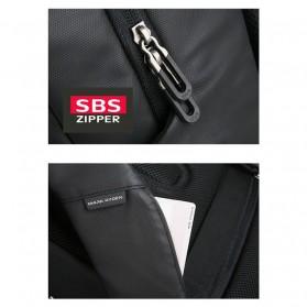 Mark Ryden Tas Ransel Laptop dengan USB Charger Port - MRK9032 - Black - 4