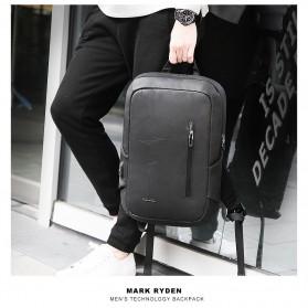 Mark Ryden Tas Ransel Laptop dengan USB Charger Port - MRK9032 - Black - 5