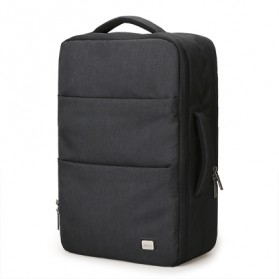 Mark Ryden Tas Ransel Travel 15 inch dengan USB Charger Port - MR5982 - Black