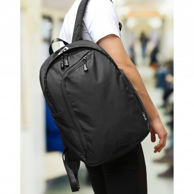 Mark Ryden Tas Ransel Laptop Multi Space dengan USB Charger Port - MR6001 - Black - 4