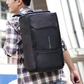 Mark Ryden Tas Ransel Anti Maling dengan USB Charger Port - MR6888 - Black - 2