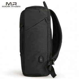Mark Ryden Tas Ransel Anti Maling dengan USB Charger Port - MR6888 - Black - 4