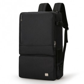 Mark Ryden Tas Ransel Laptop Anti Maling- MR6656 - Black
