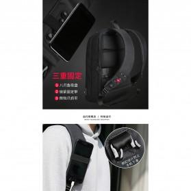 Mark Ryden Tas Ransel Laptop dengan USB Charger Port - MR6971 - Black - 8