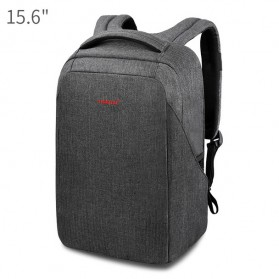 Tigernu Tas Ransel Laptop 15.6 Inch dengan USB Charger Port -  T-B3237 - Black/Gray
