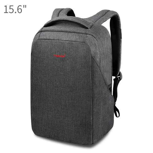 e8b15402a1 ... Tigernu Tas Ransel Laptop 15.6 Inch dengan USB Charger Port - T-B3237 -  Black ...