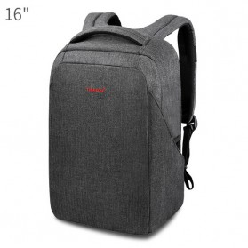 Tigernu Tas Ransel Laptop 16 Inch dengan USB Charger Port -  T-B3237 - Black/Gray