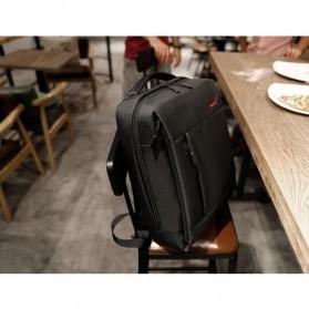 TIGERNU Tas Ransel Laptop dengan USB Charger Port - T-B3269 - Black - 9