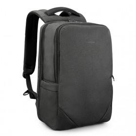 TIGERNU Tas Ransel Backpack 20L dengan USB Port - T-B3601 - Black - 3