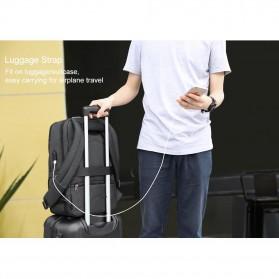 TIGERNU Tas Ransel Backpack 20L dengan USB Port - T-B3601 - Black - 5