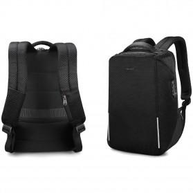 TIGERNU Tas Ransel Backpack RFID Protection dengan TSA Lock - T-B3655 - Black - 3