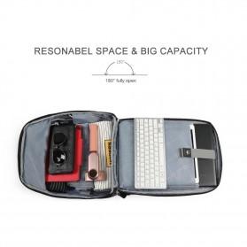 TIGERNU Tas Ransel Backpack RFID Protection dengan TSA Lock - T-B3655 - Black - 4