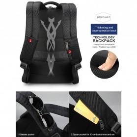 TIGERNU Tas Ransel Backpack RFID Protection dengan TSA Lock - T-B3655 - Black - 8