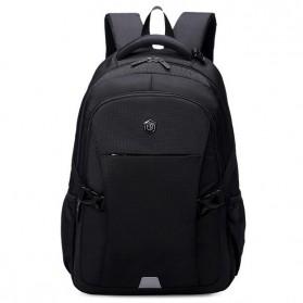 Aoking Tas Ransel Laptop 35L dengan USB Charger - SN77052-2B - Black - 2