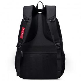 Aoking Tas Ransel Laptop 35L dengan USB Charger - SN77052-2B - Black - 3