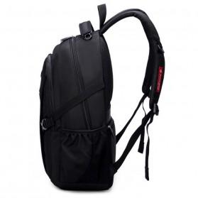 Aoking Tas Ransel Laptop 35L dengan USB Charger - SN77052-2B - Black - 4