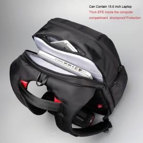 Kingsons Tas Ransel Laptop dengan USB Charger - Black - 2