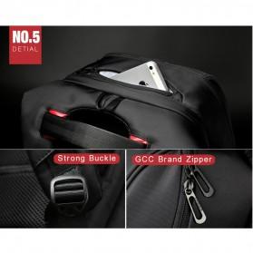 Kingsons Tas Ransel Laptop dengan USB Charger - Black - 8