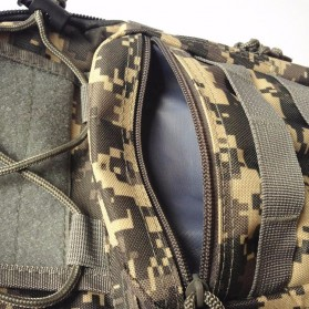 Tas Selempang Outdoor Military Tactical Duffel Backpack - Black - 9