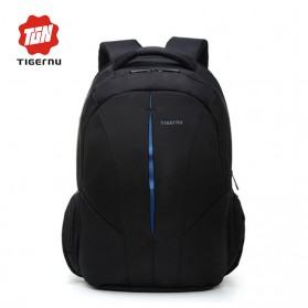 TIGERNU Tas Ransel Backpack Waterproof - Black Blue