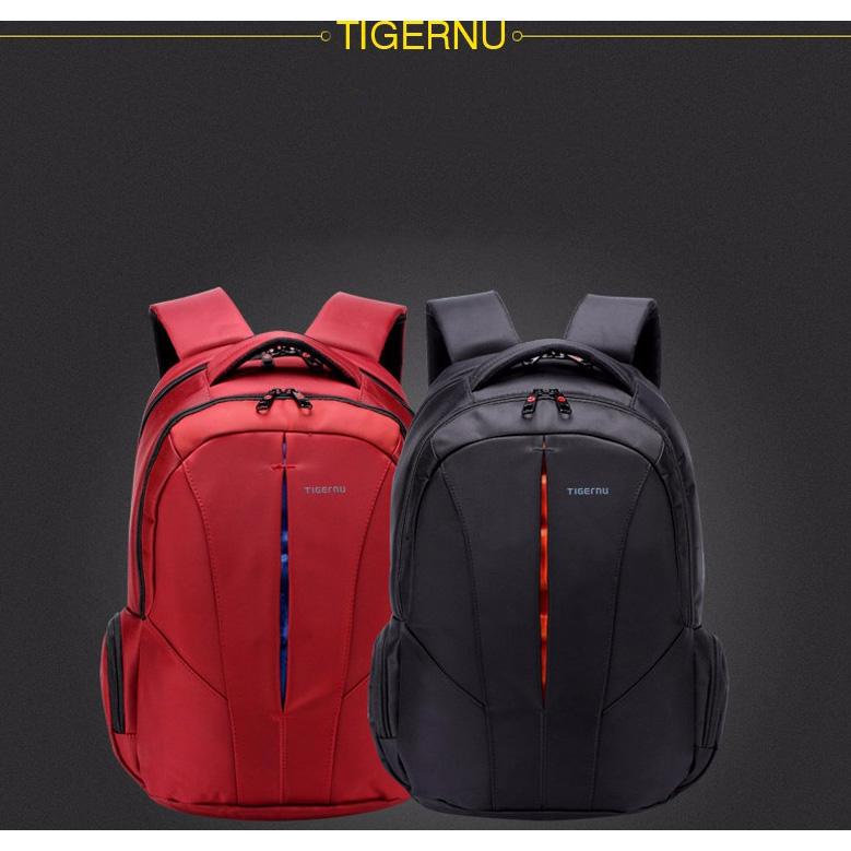 TIGERNU Tas Ransel Backpack Waterproof - Black Blue - 6 ... 79d168ecad