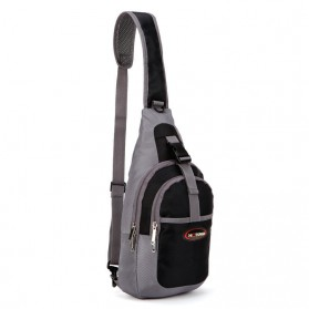 Tas Selempang Crossbody Bag Sport Waterproof - 5740 - Black