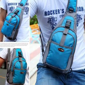 Tas Selempang Crossbody Bag Sport Waterproof - 5740 - Black - 2