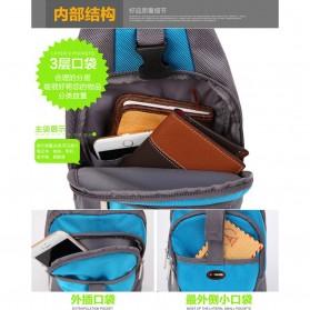 Tas Selempang Crossbody Bag Sport Waterproof - 5740 - Black - 4
