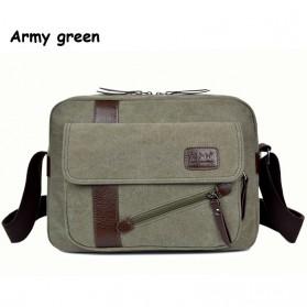 Messenger Bag / Tas Selempang - Manjianghong Tas Selempang Pria - Army Green