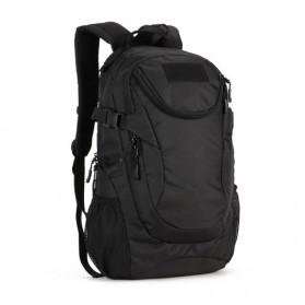 KAM Tas Ransel Backpack Desain Militer 25L - S4010 - Black