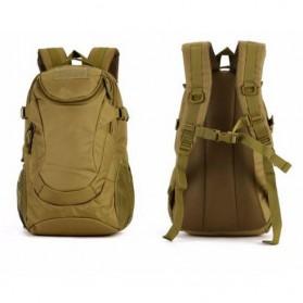 KAM Tas Ransel Backpack Desain Militer 25L - S4010 - Black - 4