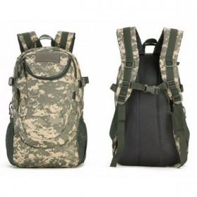 KAM Tas Ransel Backpack Desain Militer 25L - S4010 - Black - 5