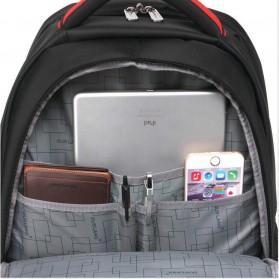 Tas Ransel Laptop 28L - Black - 6