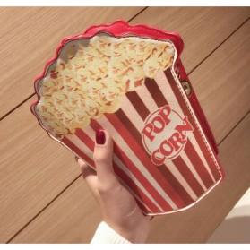 Tas Selempang Wanita 3D Cartoon Bag - Model Pop Corn - Multi-Color - 2