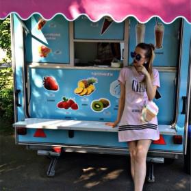 Tas Selempang Wanita 3D Cartoon Bag - Model Pop Corn - Multi-Color - 7
