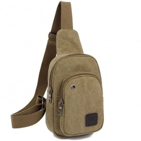 Denater Tas Selempang Canvas - UK00 - Khaki