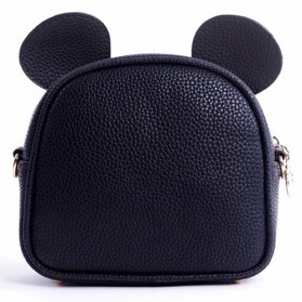 Tas Selempang Wanita Model Mickey Mouse - Black - 3