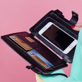 Tas Selempang Dompet Gadget Model Buku - Black - 3