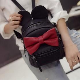 Tas Ransel Wanita Model Mickey Mouse - Black - 2