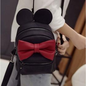 Tas Ransel Wanita Model Mickey Mouse - Black - 4