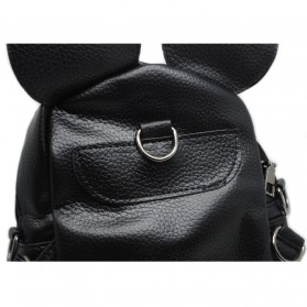 Tas Ransel Wanita Model Mickey Mouse - Black - 5